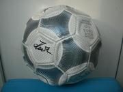 Мяч с автографами Динамо-Киев (с автографом Лобановского) 2000г.