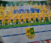 Плакат футбольной команды